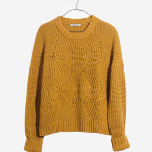 Everett Rib-Play Pullover Sweater