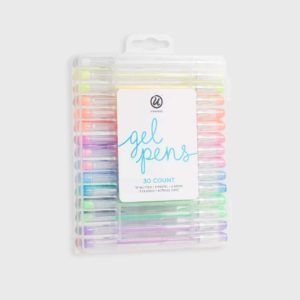 30ct Gel Pens in Case