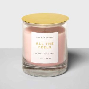 7oz Glass Jar Candle All The Feels